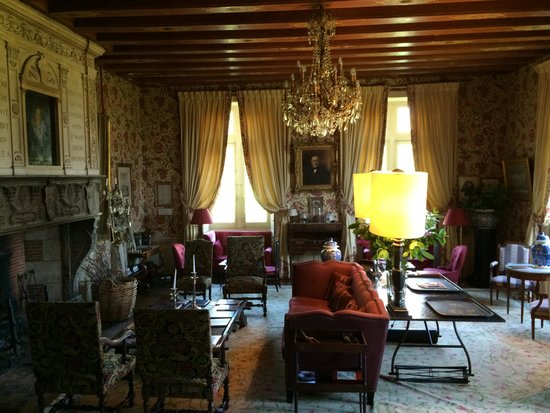 Gardens of the Chateau de la Bourdaisiere : The Living Room - spend a day relaxing and reading