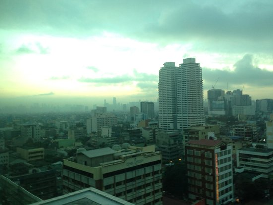 Pan Pacific Manila : View from my room
