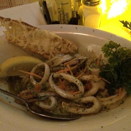 Lobster Pot: Grilled Squid