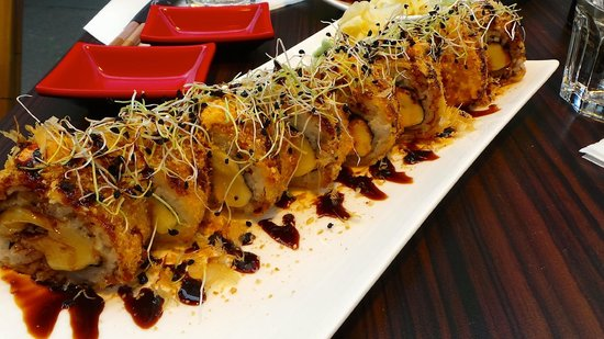 CRoll Sushi Crunchy Cheese Roll