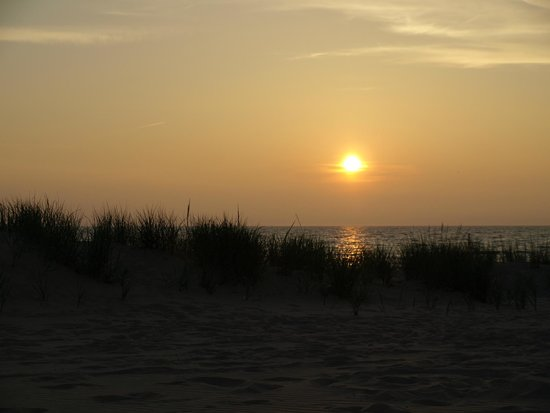 Muskegon State Park: Lake Michigan Sunset