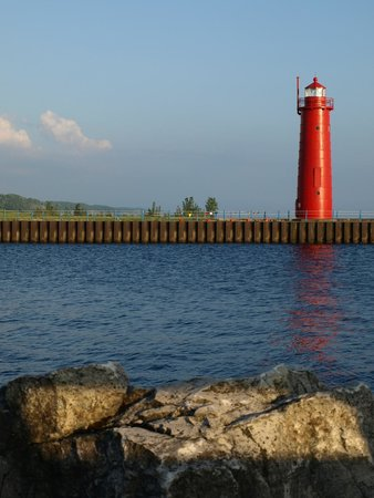 Muskegon State Park: Muskegon Lighthouse