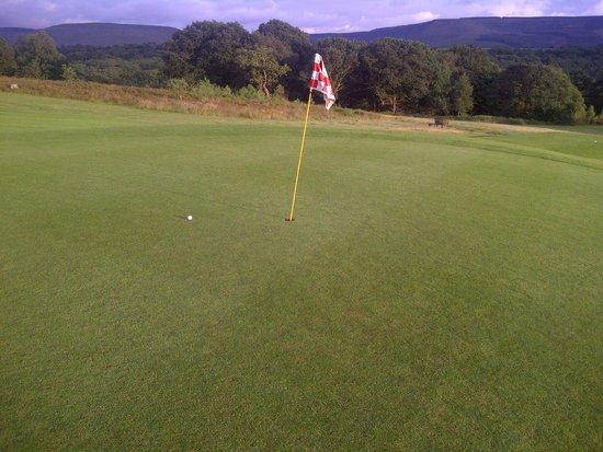 Glynneath Golf Club: Silky smooth putting greens