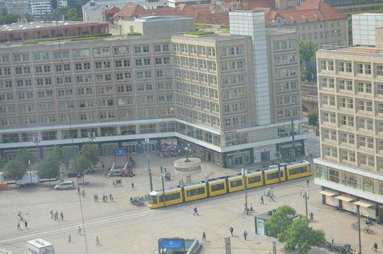Park Inn by Radisson Berlin Alexanderplatz: Vue superbe