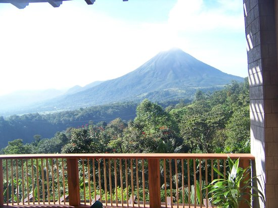 The Springs Resort and Spa: Amazing view from our room of Arenal Volcano