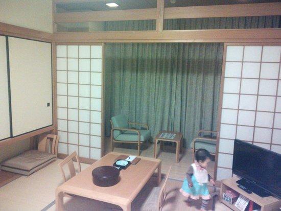 Umino Kenkomura: 14.02.01【海の健康村】和室の雰囲気②