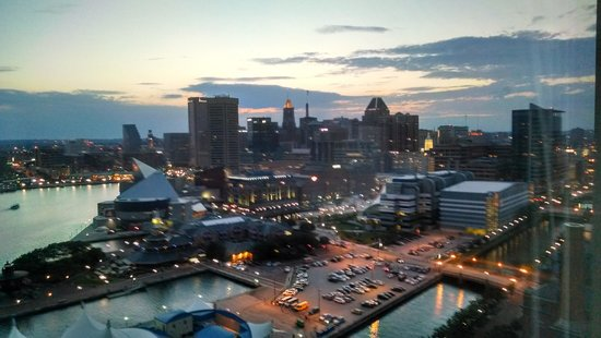 Baltimore Marriott Waterfront: breath taking views