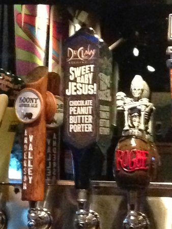 Mellow Mushroom: Beers on tap! Try this one!