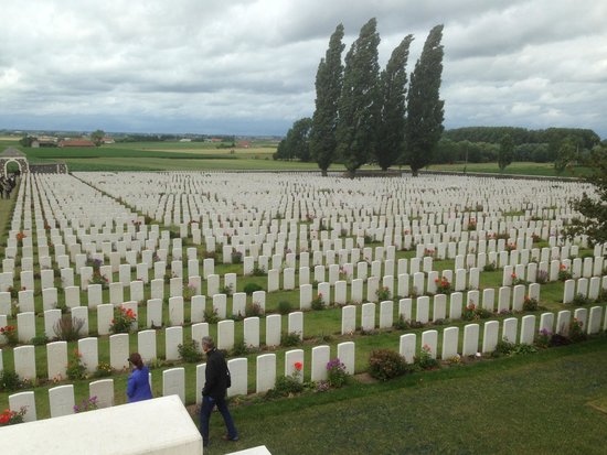 Hotel Ter Brughe: The Largest War Grave Cemetery