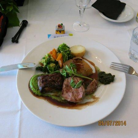 Greens Restaurant & Bar: Beautiful food