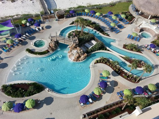 Holiday Inn Resort Pensacola Beach Everybody Loves The Lagoon Pool Area