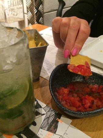 Wahaca Covent Garden: Mojito time