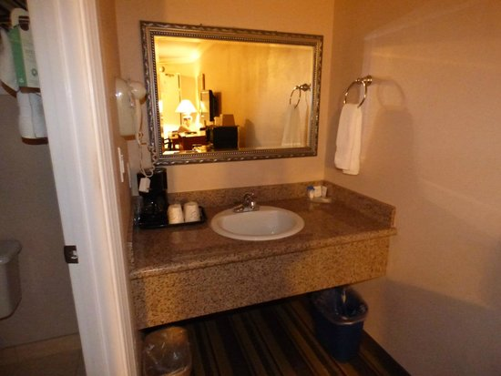 Americas Best Value Inn & Suites - San Francisco Airport: mooie badkamer