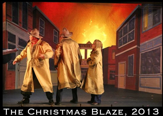 The Butte Theatre: The Christmas Blaze - 2013