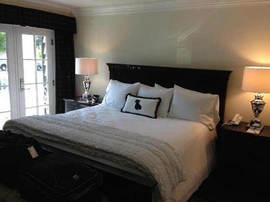 The Park On Main Hotel : Bedroom