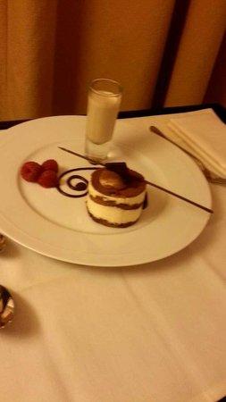 The Chelsea Harbour Hotel: Tiramisu, Room service!