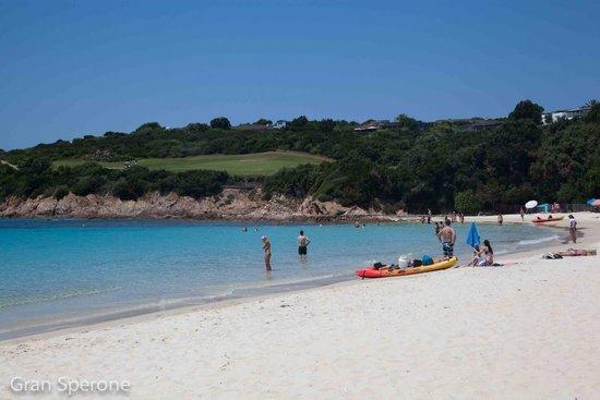 Plage du Grand Sperone : Dalla spiaggia