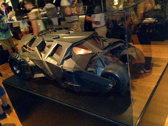 Warner Bros. Studio Tour Hollywood : Batman Car