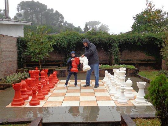 Aardvark Inn: jogo xadrez