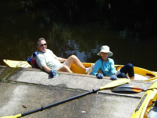 Canoe Outpost - Little Manatee River: A rest stop for the grandparents