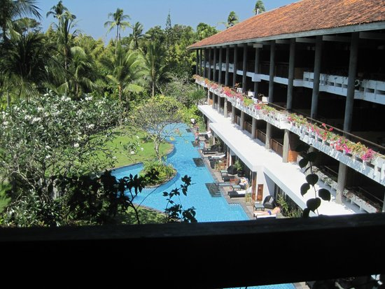 Melia Bali: view from our room