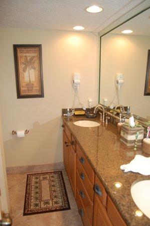 Edgewater Beach Condominium : Bathroom area