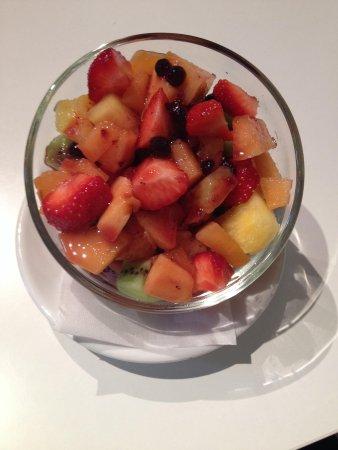 Yogurtlandia Strasbourg : Coupe de fruit excellente