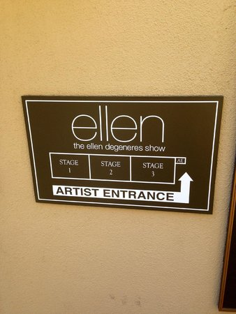 Warner Bros. Studio Tour Hollywood : Ellen Studio