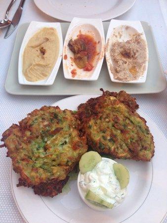 Sempati Turkish Cuisine : Zucchini pancakes