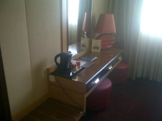 Hotel du Beryl : bureau