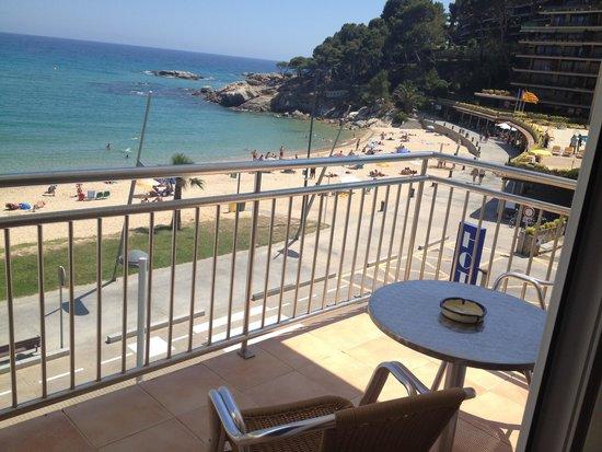 Hotel Reimar: chambre et terrasse