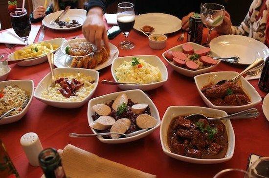 Hotel Ritta Höppner: O almoço alemão incrível!!