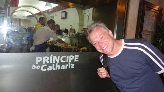 Restaurante Principe Do Calhariz : Frente do restaurante
