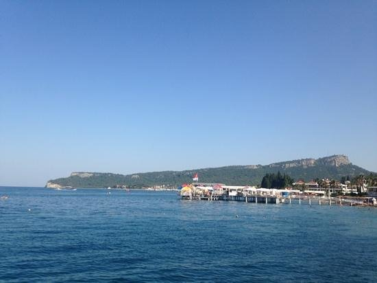 Barut Kemer : view from the jetty