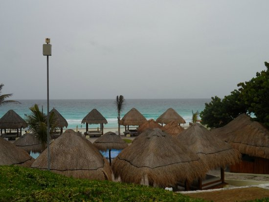 Paradisus Cancun: View from first floor Pyramid One