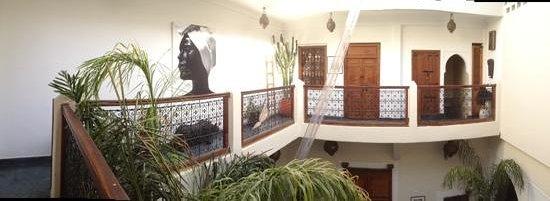 Dar Ait Sbaa: le balcon en panoramique