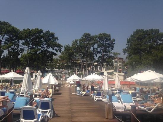 Barut Kemer : the jetty
