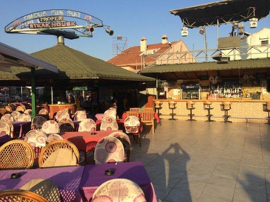 Club Dorado Hotel: Bare area