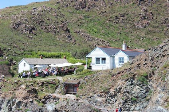 The Lizard and Kynance Cove : Kynance Cove Cafe