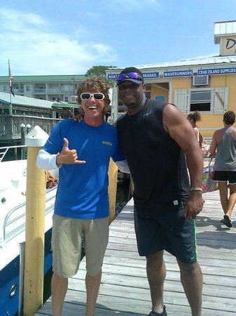 Dockside Watersports & Parasailing: we flew with Ken Griffey Jr!
