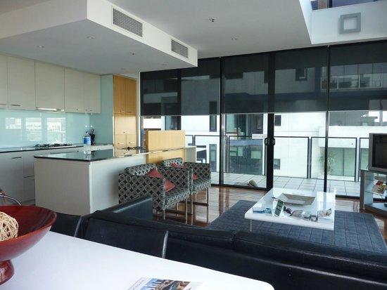 The Sebel Residences Melbourne Docklands: la cuisine