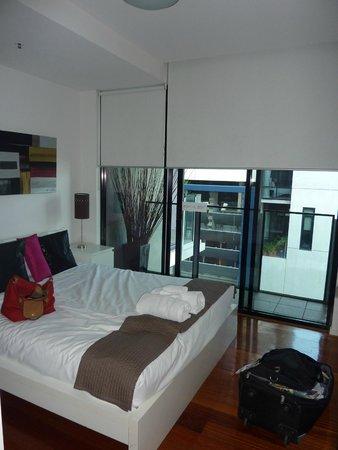 The Sebel Residences Melbourne Docklands: une des chambres