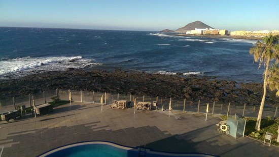 Hotel  Arenas del Mar: vue de notre chambre