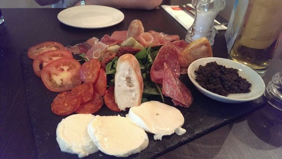 Castello: Antipasto misto for two