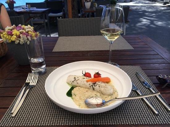 Lesic Dimitri : White fish with risotto