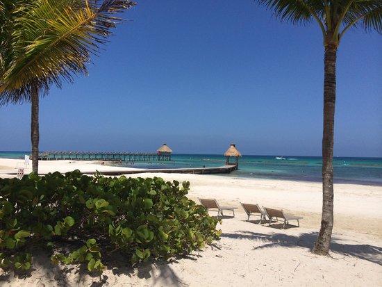 Mayan Palace Riviera Maya : View from the beach