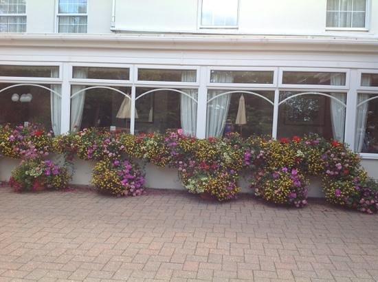 La Villette Hotel: floral displays are beautiful