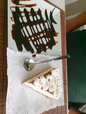 Ninen Lanzarote: Yummy coconut cheesecake