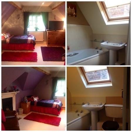 Worralls Grove: twin room