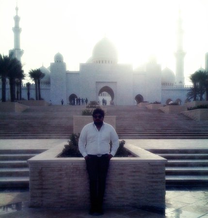 Mezquita Sheikh Zayed: Caiyad Phahad at Sh Zayed Mosque
